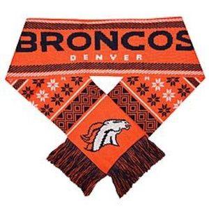 Denver Broncos knit scarf
